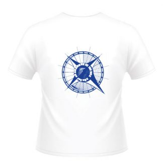 tee shirt rose des vents