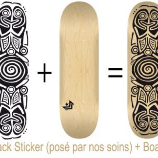 Pack Skateboard avec Sticker Ara