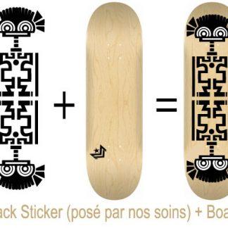 Pack Skateboard avec Sticker Ink