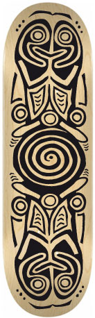 Sticker skateboard Ara
