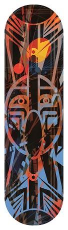 Sticker skateboard Inza